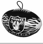 Oakland Raiders Vinyl Footballs