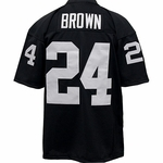 Oakland Raiders Willie Brown Authentic Jersey Black