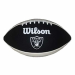 Oakland Raiders Wilson Black Panel Autograph Football