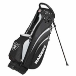 Oakland Raiders Wilson Carry Golf Bag