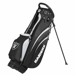 Oakland Raiders Wilson Carry Golf Bag - Click to enlarge