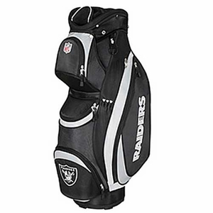 Oakland Raiders Wilson Logo Cart Golf Bag - Click to enlarge