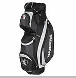Oakland Raiders Wilson Logo Cart Golf Bag