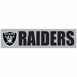 Raiders Wincraft Bumper Sticker