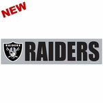 Oakland Raiders Wincraft Bumper Sticker