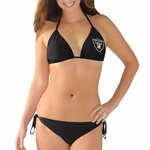 Oakland Raiders Women's Change Up Bikini