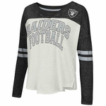 Oakland Raiders Women's Field Position Long Sleeve Tee