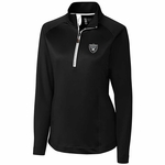 Oakland Raiders Women's Jackson Half Zip
