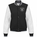 Oakland Raiders Women's Linebacker Varsity Jacket