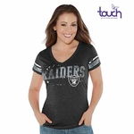 The Oakland Raiders Touch By Alyssa Milano Plus Size MVP Tee