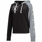 Oakland Raiders Women's South Paw Hood