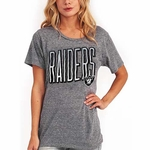 Oakland Raiders Women's Touchdown Tee