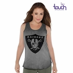 Oakland Raiders Touch by Alyssa Milano Triple Play Tank