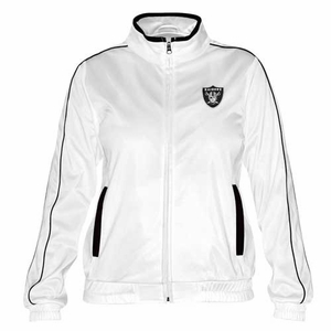 Oakland Raiders Women Tag Up Track Jacket - Click to enlarge