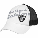Oakland Raiders Womens Cheer Cap