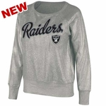 Oakland Raiders Womens Cover 2 Crew