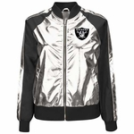 Oakland Raiders Womens Dream Varsity Jacket