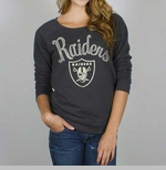 Oakland Raiders Womens Field Goal Fleece