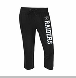 Oakland Raiders Womens Fragment Capri Pant
