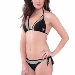 Oakland Raiders Womens Grand Slam Bikini
