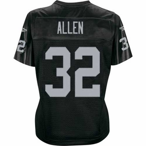 Oakland Raiders Womens Marcus Allen Premier Jersey - Click to enlarge