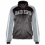 Oakland Raiders Womens Perfect Match Jacket