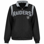 Oakland Raiders Womens Primetime Jacket