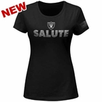 Oakland Raiders Womens Salute Foundation T