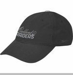 Oakland Raiders Womens Script Black Cap