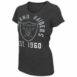 Oakland Raiders Womens Shutout Tee