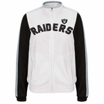 Oakland Raiders Womens Sideline Track Jacket