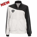 Oakland Raiders Womens Slugger Track Jacket