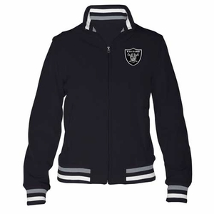 Oakland Raiders Womens Speed Softshell Jacket - Click to enlarge