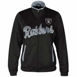 Oakland Raiders Womens Star Club Jacket