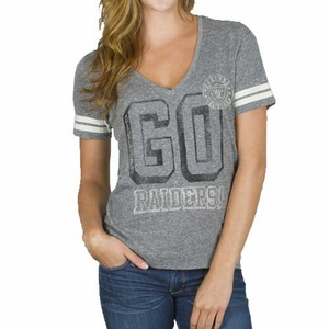 Oakland Raiders Womens Tailgate Tee - Click to enlarge