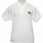 Oakland Raiders Womens Tournament Polo - White