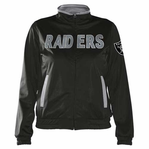 Oakland Raiders Womens Training Camp Jacket - Click to enlarge