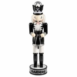 Oakland Raiders Wooden Nutcracker