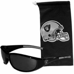 Oakland Raiders Wrap Sunglasses