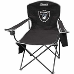 Oakland Raiders XL Cooler Quad Chair