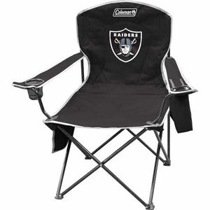 Oakland Raiders XL Cooler Quad Chair - Click to enlarge