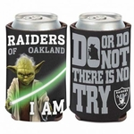 Oakland Raiders Yoda Can Cooler