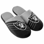 Oakland Raiders Youth Big Logo Slipper