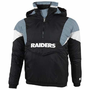 Oakland Raiders Youth Breakaway Jacket - Click to enlarge