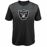 Oakland Raiders Youth Coil Tee