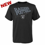 Oakland Raiders Youth Dimensional Tee