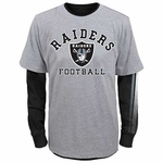 Oakland Raiders Youth Fade Combo