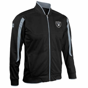 Oakland Raiders Youth Gameday Track Jacket - Click to enlarge