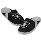 Oakland Raiders Youth Jersey Slippers