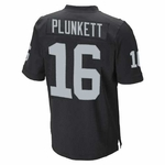 Oakland Raiders Youth Jim Plunkett Limited Black Jersey